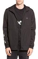 Barney Cools 'O.G' Hooded Zip Jacket Black