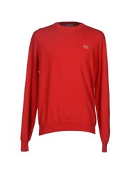 Alviero Martini 1A Classe Knitwear Jumpers Men Red