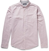 Alex Mill Tattersall Check Brushed Cotton Shirt Red