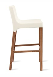 Blu Dot Knicker Barstool White