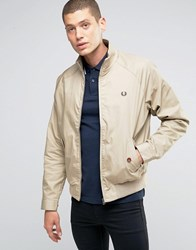 Fred Perry Harrington Jacket In Twill Twill Beige