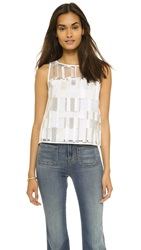 Milly Cubist Shell Top Stone