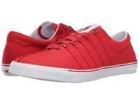 K Swiss Surf 'N Turf Og Ribbon Red Classic Blue White Canvas Men's Shoes