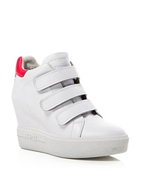 Ash Wedge Sneakers Avedon White Neon Pink