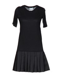 Edward Achour Short Dresses Black