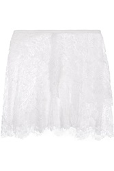 Isabel Marant Mayra Tiered Lace Mini Skirt