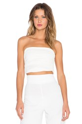 Aq Aq Carra Crop Top Cream