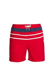 Solid And Striped The Classic Swim Shorts Red Multi