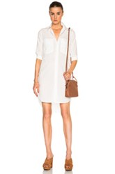 Mother Cadet Dress In White
