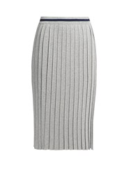 Max Mara Large Skirt Silver