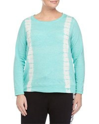 Marc Ny Performance Plus Pullover Tie Dye Top Lagoon