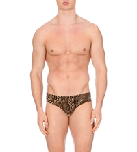 Aussiebum Tiger Printed Swim Briefs