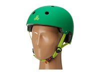 Triple Eight Brainsaver Dual Certified Helmet With Eps Liner Kelly Green Athletic Sports Equipment