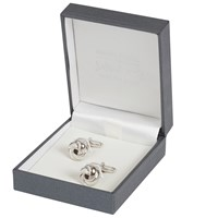 Simon Carter For John Lewis Sterling Silver Knot Cufflinks Silver