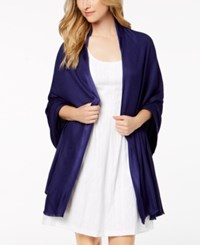 Inc International Concepts I.N.C. Solid Oversized Soft Wrap Created For Macy's Navy