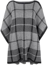 Woolrich Checked Tabard Sweater Grey