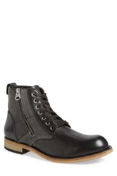 Andrew Marc New York Forest Plain Toe Boot Gray