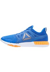 Reebok Zprint 3D We Sports Shoes Awesome Blue White Fire Spark Pewter