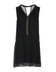 Axara Paris Short Dresses Black