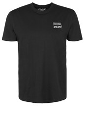 Russell Athletic Print Tshirt Black