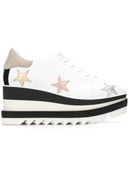 Stella Mccartney Star Elyse Platform Shoes White