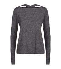 Under Armour Underarmour Swing Keyhole Top Female Grey