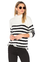 Sanctuary Oversized Mock Sweater White