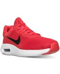 Nike Men's Air Max Modern Essential Running Sneakers From Finish Line Action Red Black White
