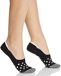 Happy Socks Dot Liner Black White