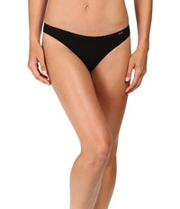 Ongossamer Clean Lines Low Rise Thong G2075 Black Women's Underwear