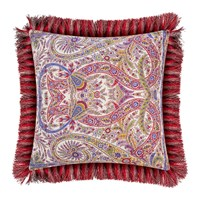 Etro Colombara Tassel Edged Cushion 45X45cm Red