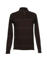 Pirelli Pzero Polo Shirts Dark Brown