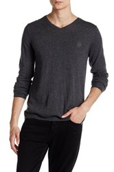 Zadig And Voltaire Peter Long Sleeve Pullover Gray