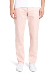 The Rail Straight Leg Chinos Pink Silver