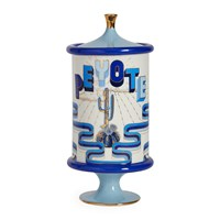 Jonathan Adler Druggist Peyote Canister Small Multi Blue