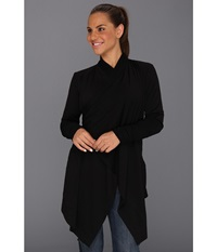 Icebreaker Bliss Wrap Black Women's Sweater