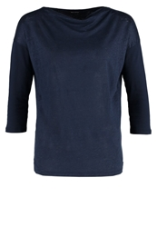Marc O'polo Long Sleeved Top Dusk Blue Dark Blue