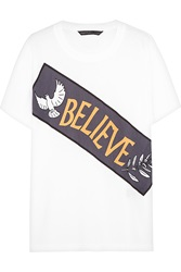 Marc By Marc Jacobs Believe Printed Cotton T Shirt