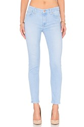 7 For All Mankind The Ankle Skinny Pretty Sky Blue