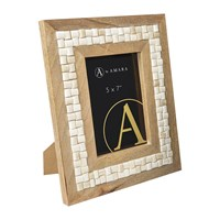Amara Cream Tile Photo Frame 5X7