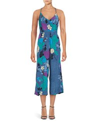 Plenty By Tracy Reese Printed Wrapped Jumpsuit Tenchifa
