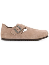 Birkenstock Buckled Loafers Neutrals