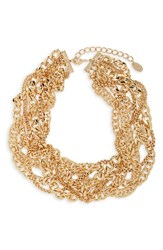 Cara Layered Chain Necklace Gold