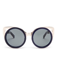 Erdem X Linda Farrow Cat Eye Sunglasses