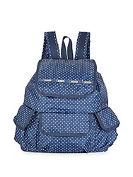 Le Sport Sac Polka Dot Explorer Backpack Navy
