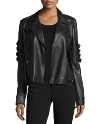 Haute Hippie With The Band Leather Jacket Black