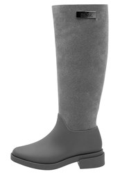 Melissa Vivienne Westwood Anglomania Wellies Grey Anthracite