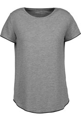 Majestic Stretch Jersey T Shirt Gray