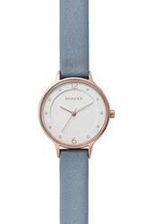 Skagen Women's Anita Leather Strap Watch 30Mm
