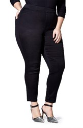Mblm By Tess Holliday Plus Size Women's Pull On Skinny Jeans